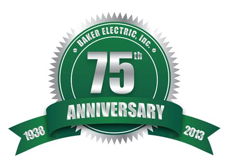 inc logo 103 anniversary baker electric inc and baker electric solar on top 250