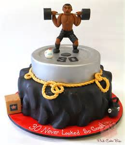 Weight Lifting Decorations Workout Themed Birthday Cake 187 Celebration Cakes