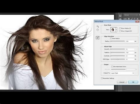 hair selection tutorial photoshop cs3 photoshop how to take advance hair selection with mask