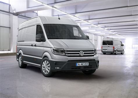 volkswagen crafter new 2017 volkswagen crafter debuts with fwd option us