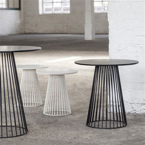 table bistrot exterieur table bistrot ronde design garbo 65 serax zendart design