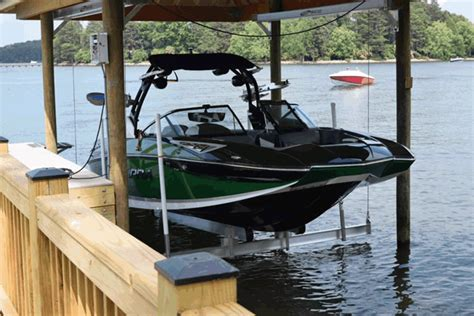 hurricane boats lifts boat lifts jet ski lifts lake norman