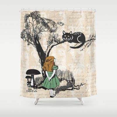 alice in wonderland shower curtain pin by ired wooding on shower curtains diy headboard