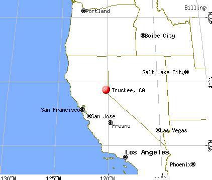 truckee california map truckee california ca 96161 profile population maps