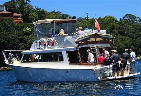 Mv Family neptune boat hire australia day cruise sydney harbour