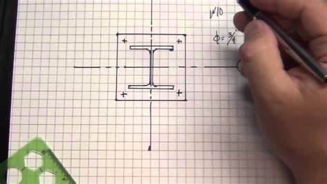 Floor Plan Abbreviations by Unit 4 Designing Structural Steel Base Plate Youtube