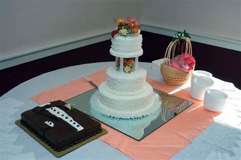 groomscake traditional tux grooms cake