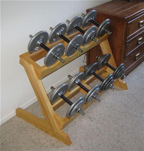how to build a dumbbell rack homemade dumbbell rack bodybuilding com forums workout room pinterest dumbbell rack