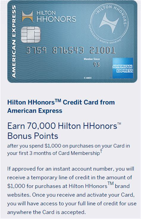 hilton hhonors card from american express earn hotel american express hilton hhonors no annual fee 70 000
