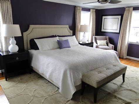 dark purple master bedroom regal master bedroom traditional bedroom dc metro