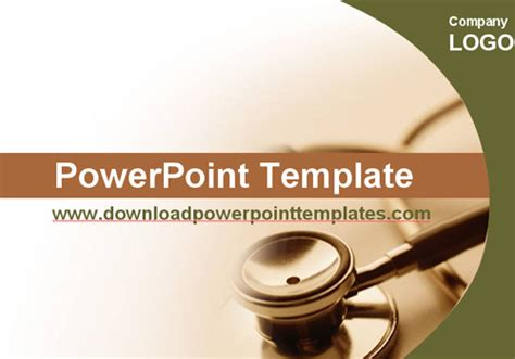 free medical powerpoint presentation template bountr info