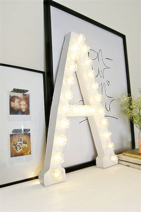 11 ways to craft with cardboard letters diy