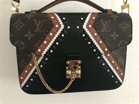 louis vuitton limited edition pochette metis brouge mm runway collection fw2017 sold out