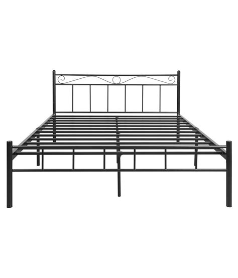 prince size bed furniturekraft metal prince size bed available at snapdeal