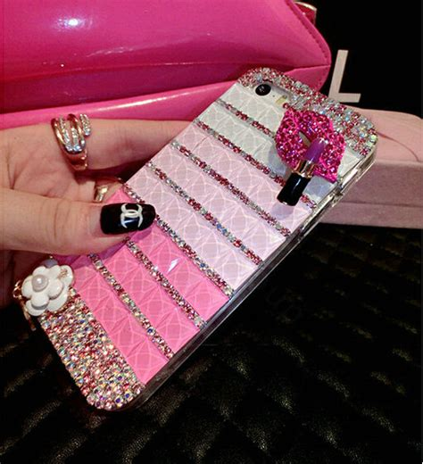 For Iphone 6 6s Plus Luxury Flower Bling Fashion So T0310 buy wholesale luxury chanel bling cases