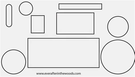 tractor template printable after in the woods april 2014