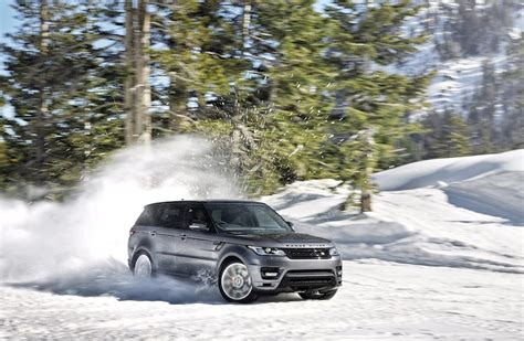 land rover snow 2014 range rover sport snow drifting egmcartech