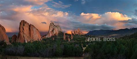 Garden Of The Gods Arizona Garden Of The Gods Sunset Cloud Gate Pixel Ultra