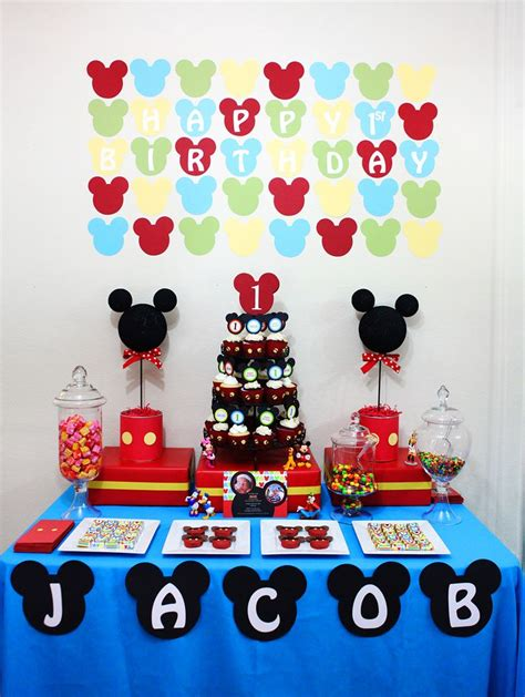 mickey mouse themed decorations best 25 mickey mouse invitation ideas on