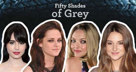 fifty shades of grey ana actress the fifty shades of grey casting poll who would you cast