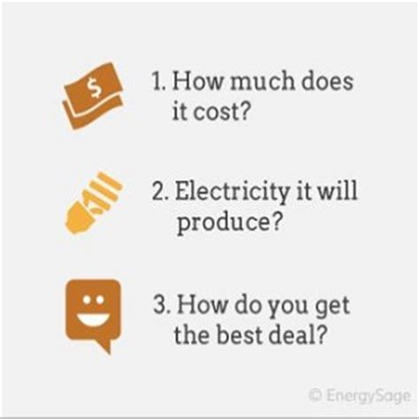 how much does it cost for solar energy how much does an average solar panel system cost