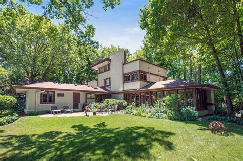frank lloyd wright homes for sale around chicago curbed
