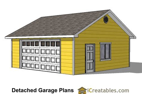 24 x 24 garage plans 24x24 garage plans door under eve