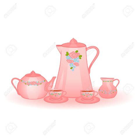 Teapot And The teapot and cup set clipart www imgkid the image