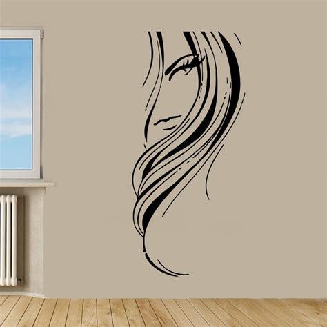 Hair Salon Wall Decor by Salon Decor Sticker Vinyl Wall Ebay