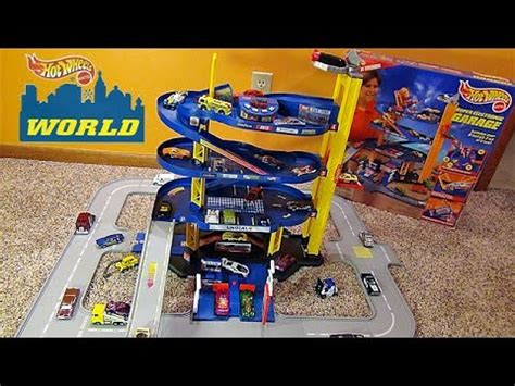 Hot Wheels Super Electronic Garage Playset   Giant Parking