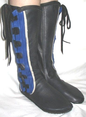 Handmade Renaissance Boots - leather moccasins renaissance boot handmade comicon