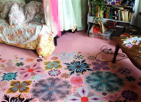 Decoupage Floors Diy - decoupage 8 diy ways to improve your flooring bob vila