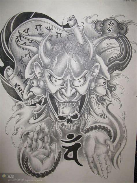 傅海林貔貅纹身手稿