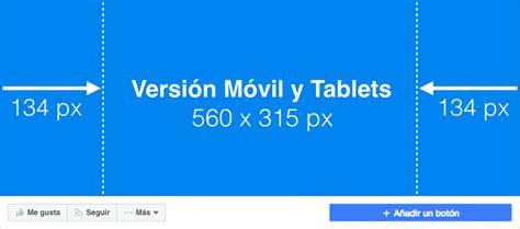 cabecera facebook medidas medidas de fotos en facebook medidas oficiales 2018