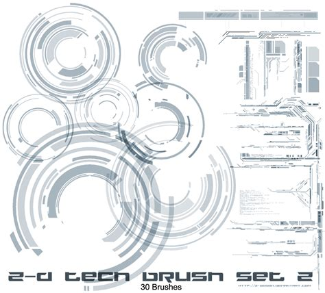 Layout Photoshop Brushes | z design tech brushes set v2 by z design on deviantart