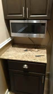 find more countertop or cabinet mount microwave space