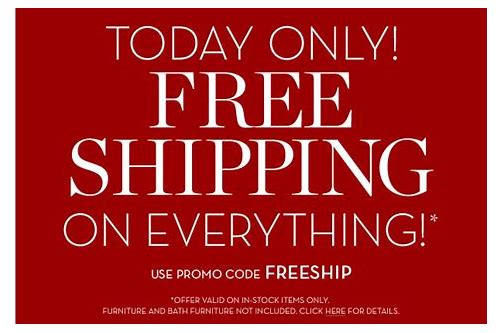 pottery barn free shipping coupons code