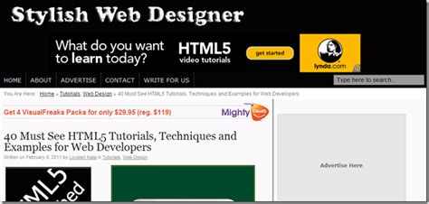 tutorial website html5 unleashing html5 articles guides resources tutorials