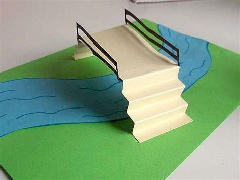 Make A Paper Bridge - pooh sticks for crafts