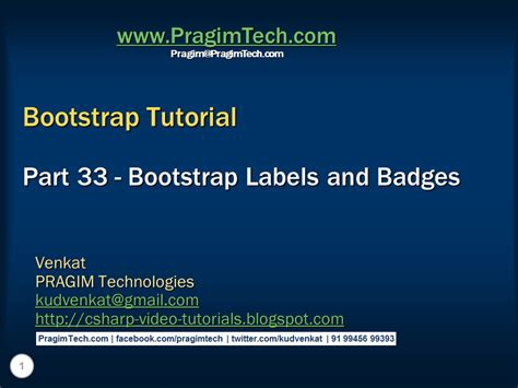 bootstrap tutorial label sql server net and c video tutorial bootstrap labels