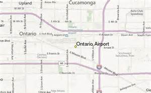 ontario airport weather station record historical