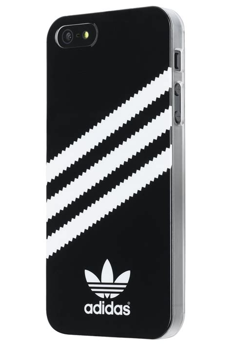 Cover Adidas Black adidas for apple iphone 5 5s black white