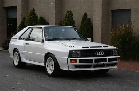 Audi Sport Quattro S1 For Sale by 1985 Audi Sport Quattro German Cars For Sale