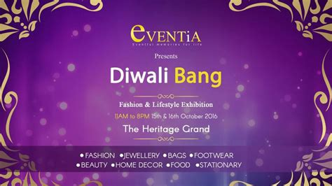 Diwali Bang Lifestyle & Festive Exhibition By Eventia