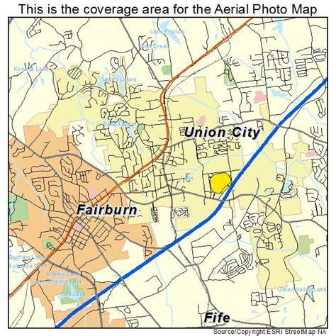 union city georgia map aerial photography map of union city ga georgia