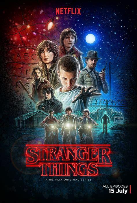 bioskopkeren stranger things season 1 poster stranger things saison 1 old school