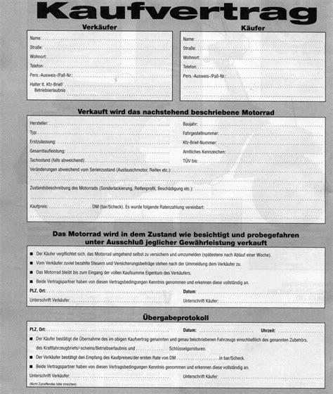 Gebraucht Motorrad Kaufvertrag Adac by Motorrad Kaufvertrag Adac Kaufvertrag Related Keywords
