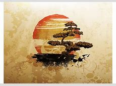 Bonsai Tree - Download Free Vector Art, Stock Graphics ... Japanese Maple Leaf Drawing