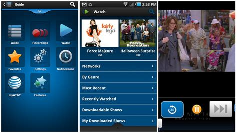 free tv app for android 100 live tv channels now available for the via at t u verse app for android