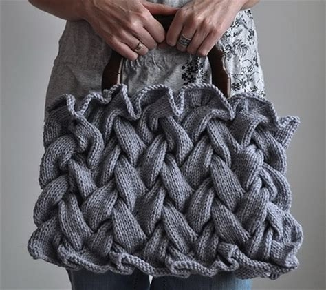 how to knit a braid knitted purse archives knitting is awesome